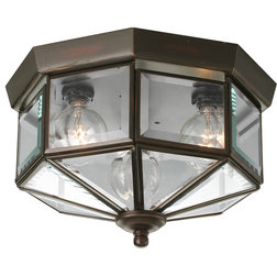 Transitional Outdoor Flush-mount Ceiling Lighting by Arcadian Home & Lighting