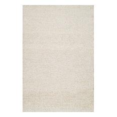Hand Woven Hailey Jute, Off-White, 9'x12'