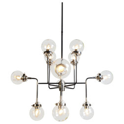 Midcentury Chandeliers by Moti