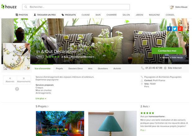 le cr ateur de site transformez votre profil en site internet. Black Bedroom Furniture Sets. Home Design Ideas