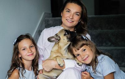 В гостях: Яркий дом для семьи с тремя детьми