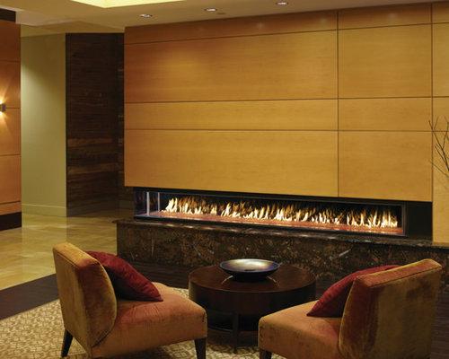 DaVinci by Travis Industries - DaVinci Left Corner - Indoor Fireplaces