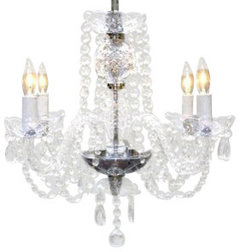 Crystal Chandelier - Traditional - Chandeliers - by Gallery