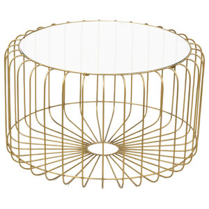 Birdcage Round Coffee Table