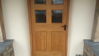 Farmhouse Bespoke Oak Door