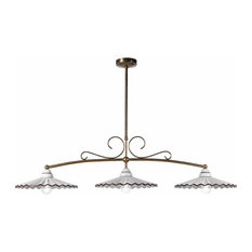 Nonna Bice 3-Lamp Pool Table Light