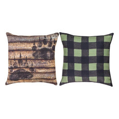 Colorful Rustic Throw Pillows : Rustic Multicolored Decorative Pillows Houzz