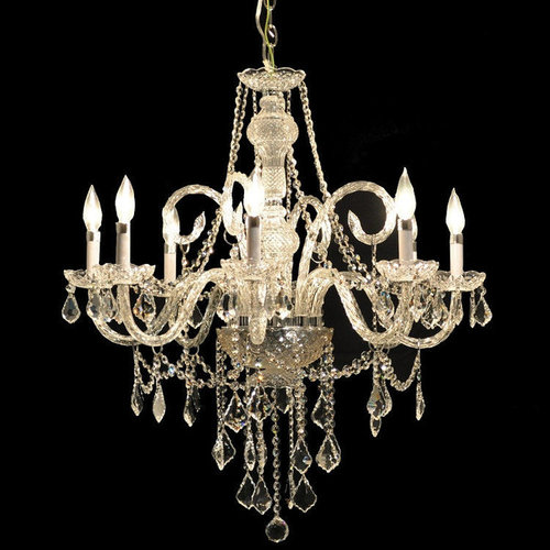 Dining Room Chandeliers Traditional Crystals: Hollywood Glam: Luxurious Crystal Chandeliers & More