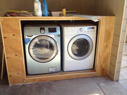 Washer Dryer Enclosure Door