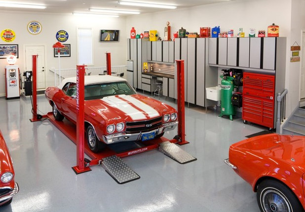 Insolite 12 garages roulent des m caniques for Garage mecanique sartrouville