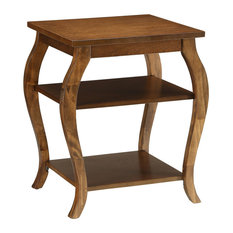 ACME Becci End Table In Walnut
