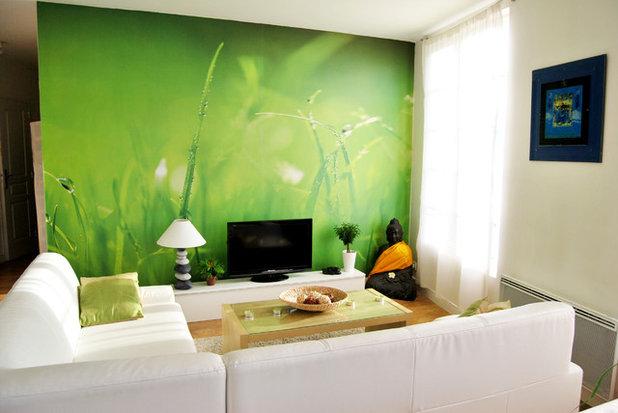 10 papiers peints directement inspir s de la nature. Black Bedroom Furniture Sets. Home Design Ideas
