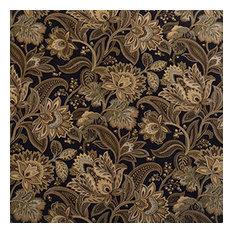 Designer Roman Shades Plain Fold, 35Wx63H, Jacobean Blackbird