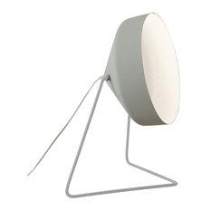 Cyrcus Floor Lamp, White Lining, Grey