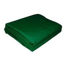 Aleko Rectangle Waterproof Sun Shade Sail, 12'x12', Green