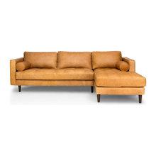family room leather sofa
