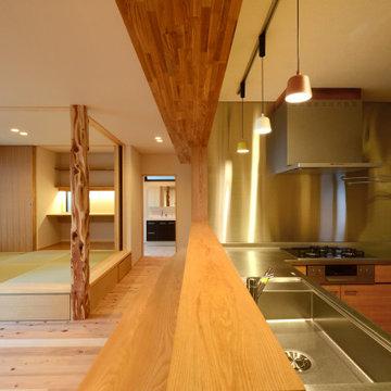三方原の家(静岡県浜松市)キッチン