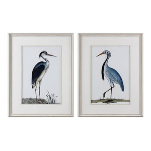Uttermost Shore Birds Framed Prints, Set of 2