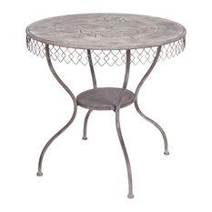 Table W/Bird 30-inchH Metal