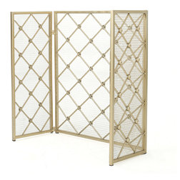 Contemporary Fireplace Screens by GDFStudio