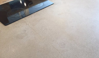 Restoration of Concrete Kitchen Countertop with Tough Oil Stains