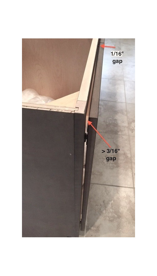Soft Close Hinges 3 16 Gap Adjustment