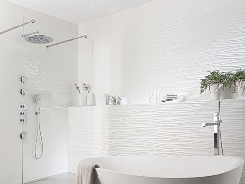 How To Cut The Inside Corners For A 3d Tile Like Porcelanosa Oxo Line