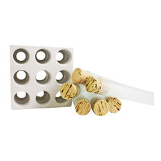 White Concrete 9-Spice Tube Set