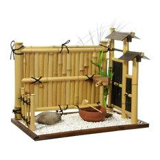 Shop Dark Japanese Garden Trellis on Houzz