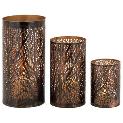 Contemporary Candleholders by Brimfield & May