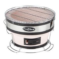 Fire Sense - Yakatori Charcoal Grill, Small, Round - Outdoor Grills