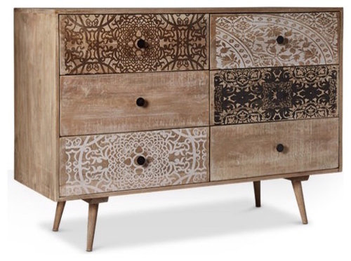 . Chest of Drawers  Modern  Mid century    French style