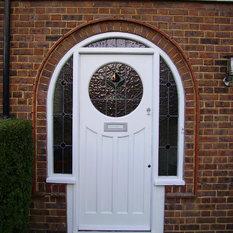 Admirable Half Round Window Front Doors Find Upvc Front Doors Composite Inspirational Interior Design Netriciaus