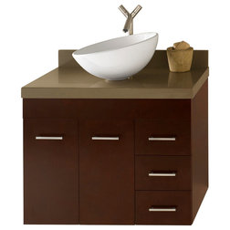 Lovely Contemporary Bathroom Vanities And Sink Consoles by Ronbow Corp