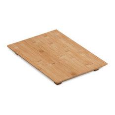 Kohler Hardwood Cutting Board For Poise & 8 Degree Kitchen & Bar Sinks