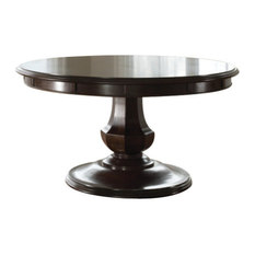 expandable round dining room tables | houzz