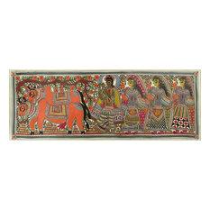 Krishna Madhubani Painting