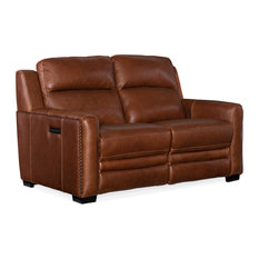 Aviator Power Motion Loveseat With Power Headrest Power Lumbar Support