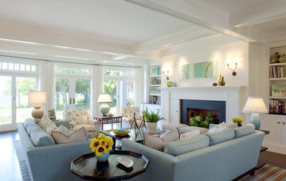 Beautiful Living Rooms Mix Comfort and Style