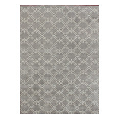 Amazing ADC Rugs   Moroccan Scroll Tile Gray Handmade Persian Style Woolen Area Rug,  Gray,
