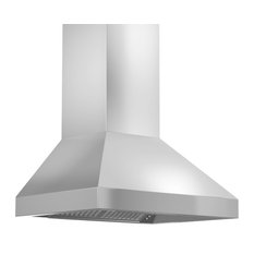 """Residence - Willow Stainless Steel Wall Range Hood, 36"""" - Range Hoods and Vents"""
