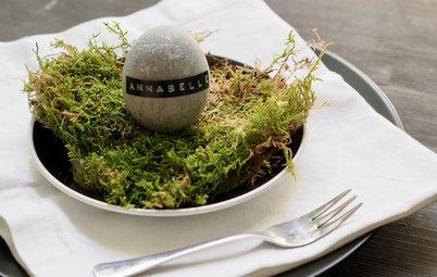 DIY: Osterbasteln mit Beton – eine Tischdeko mit Ei und Vase