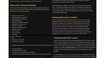workerscompensationlawyerriverside Infographics