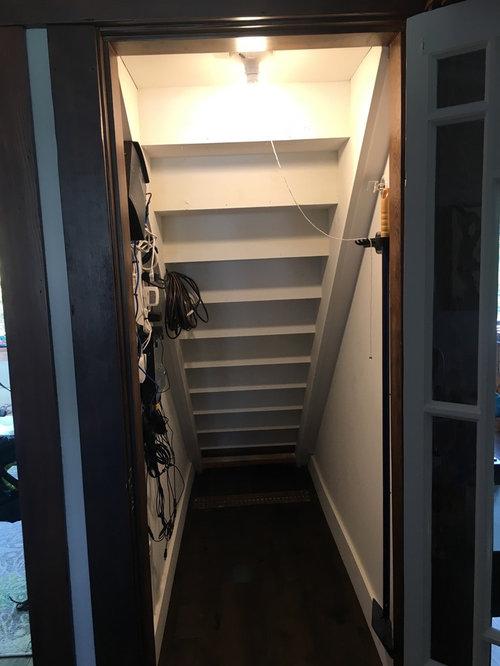 Under Stair Closet Organization Ideas