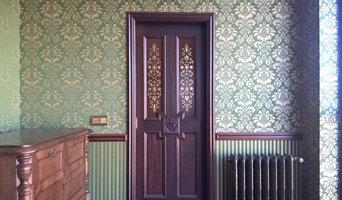 Роспись, золото, двери