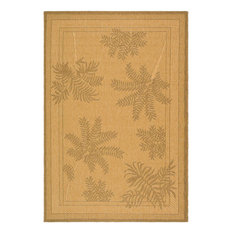Safavieh Courtyard cy6683-39 Natural, Gold Area Rug
