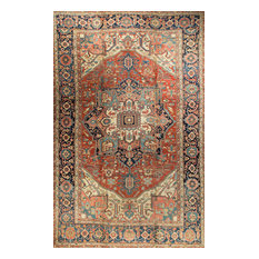 """Traditional Antique-Style Hand Woven Rug, 14'5""""x23'10"""""""