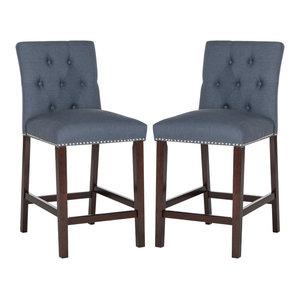 Brilliant Safavieh Mcr4509 Seth 18 7 Inch Wide Birch Accent Stool Lamtechconsult Wood Chair Design Ideas Lamtechconsultcom