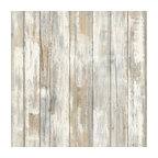 Distressed Peel-and-Stick Wallpaper, Bolt