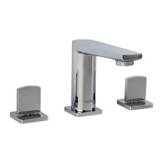 """Adalbert 3-Piece 8"""" Widespread Faucet, Polished Chrome"""